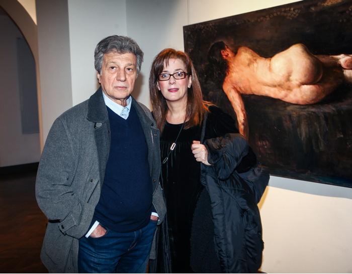 Ο Γιάννης Φέρτης και η Μαρίνα Ψάλτη