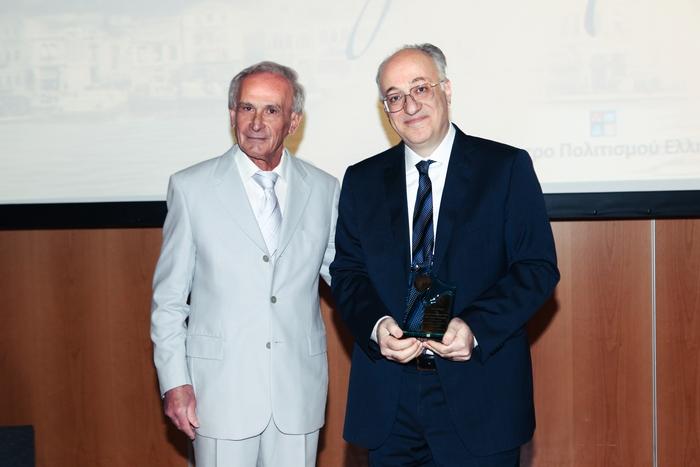 Γιώργος Αρχοντάκης, Πρόεδρος Ένωσης Σμυρναίων, Δημήτρης Εφραίμογλου, Διευθύνων Σύμβουλος ΙΜΕ.