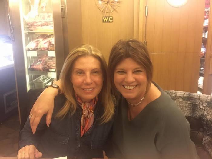 Με την Λίλιαν Βαρβιτσιώτη