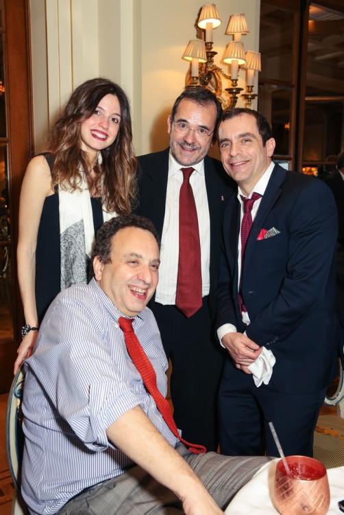 Χρήστος Χωμενίδης, Μυρτώ Τσίμα και Παύλος Τσίμας, Κων/νος Μαρκουλάκης