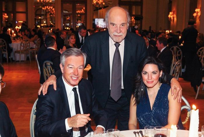 Ανδρέας Ανδρεάδης (Πρόεδρος ΣΕΤΕ), Διονύσης Κούκης (πρόεδρος επιτροπής Χρυσών Σκούφων), Όλγα Κεφαλογιάννη (πρώην Υπουργός Τουρισμού)