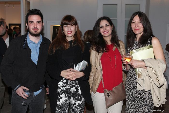 Ο Αιμίλιος Χαρμπής, η Μαριλένα Αστραπέλλου, η Βίβιαν Μελικόκη και η Μαρίνα Τσικλιτήρα