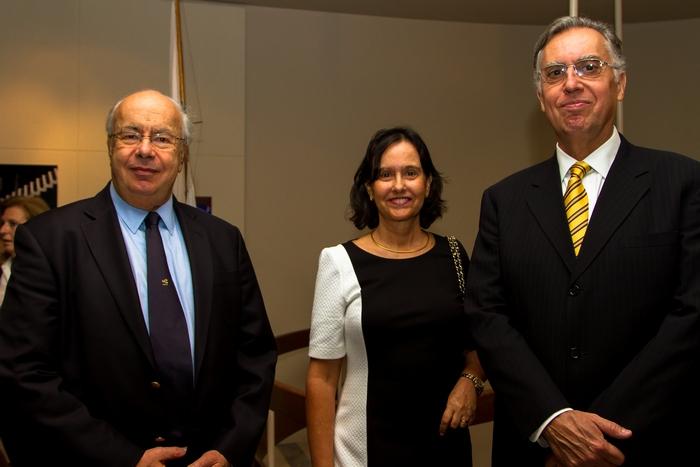 Γιώργος Ανδρεάδης - Edgard Antonio Casciano, πρεσβης Βραζιλίας και η σύζυγος του