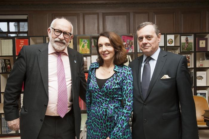 John Fraclas.Ambassador Konstantios Bikas.Maria Bika