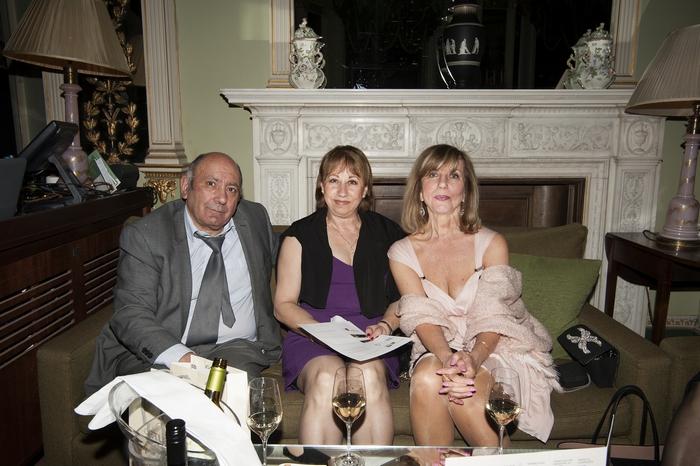 Mr John Vasiliou, Mrs Andria Vasiliou, Charlotte Ellis