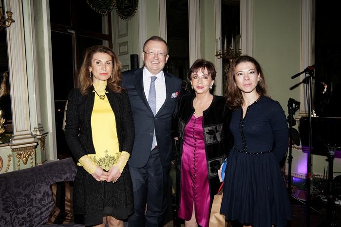 Mrs Nana Yakovenko, His Excellency Yakovenko Alexander Vladimirovich Russia Ambassador, Chrisanthy Lemos, Sofia Konstantopoulou-Papadopoulos