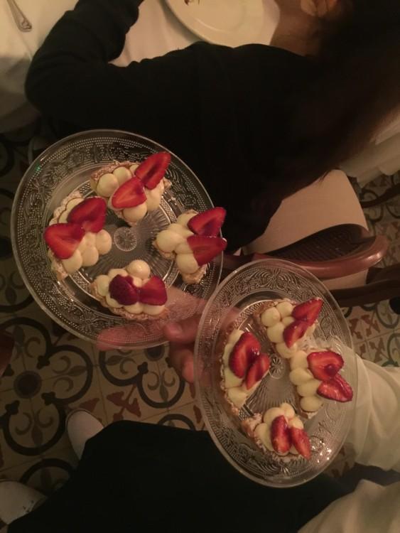 Η Τάρτα φράουλας!