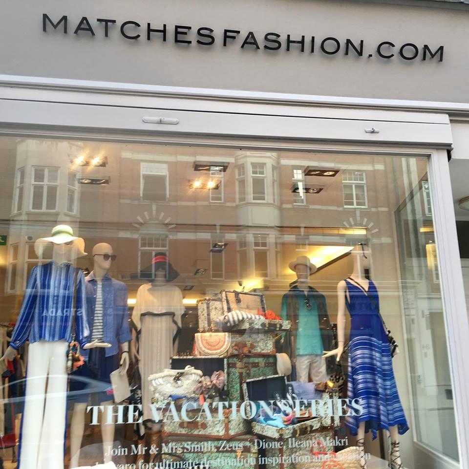 Tα Zeus+Δione στις βιτρίνες του Matches Fashion...
