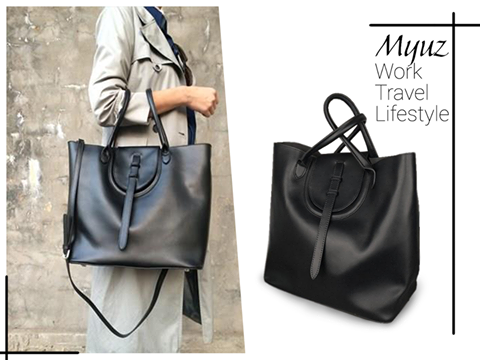 Zoe Leather Tote-Bag
