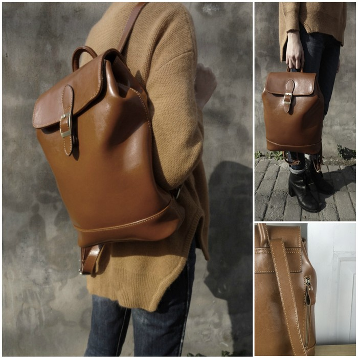 ok Eva-Leather-Rucksack