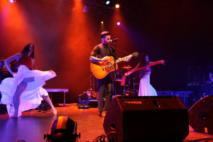 Thodoris Marantinis on stage