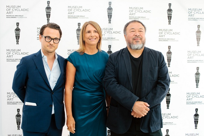 Michael Frahm, Σάντρα Μαρινοπούλου, Ai Weiwei