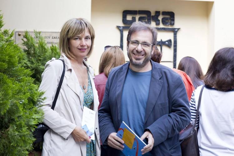 Έλενα Πατάκη και κος Νίκος Πασχαλάκης