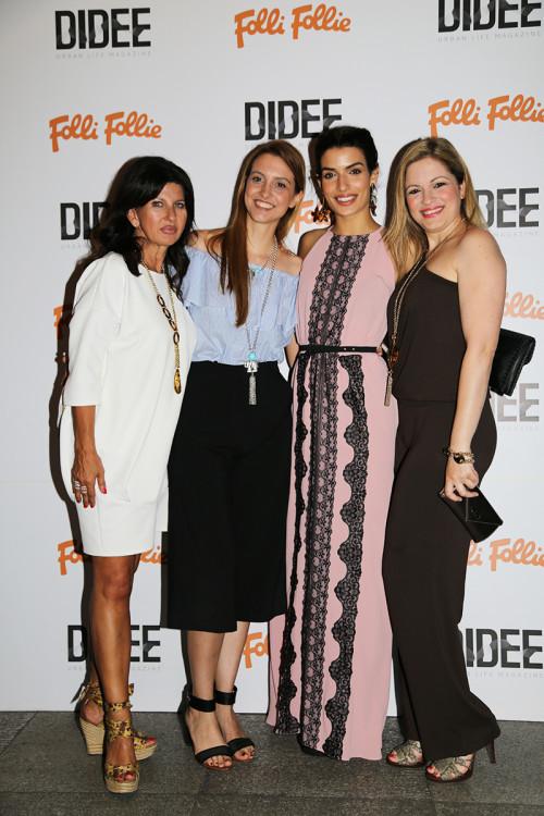 Ελένη Παναρίτη, Ευριδίκη Κατσουλάκη, Τόνια Σωτηροπούλου και Φένια Τσαβδάρη