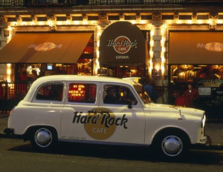 Hard Rock Cafe London - Taxi Shot