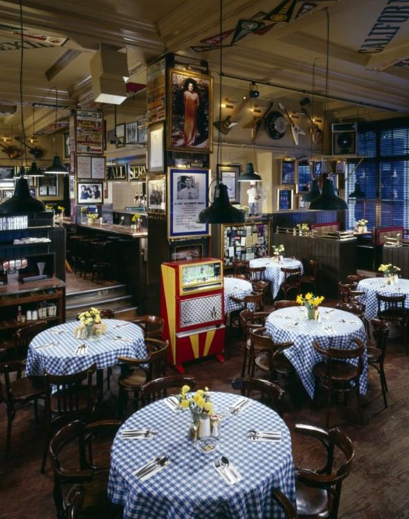 ard Rock Cafe London , Vintage Interior