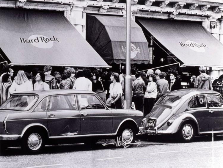 Hard Rock Cafe London , Vintage Shot