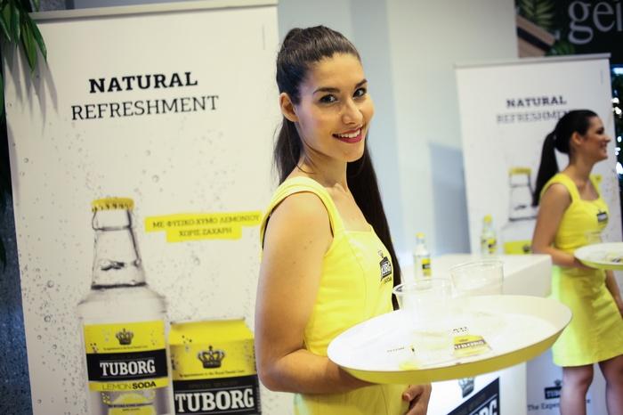 Tuborg Lemon Soda! Ευχαριστούμε που δροσίσατε το The Pop Up Project!