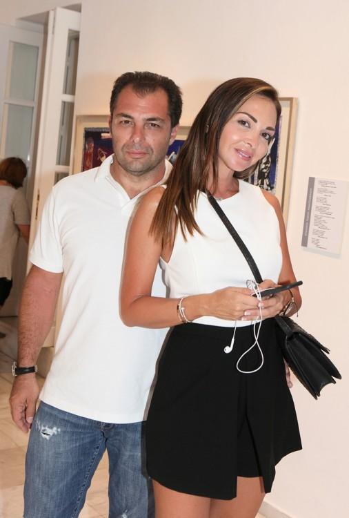 Ο Θοδωρής Αργυρός και η Αλεξάνδρα Σταθοκωστοπούλου-Αργυρού