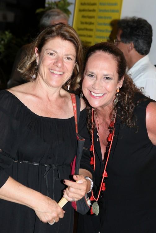 Η Μαρία Πρωτονοταρίου-Μαρκεζίνη και η Πέπη Ραγκούση
