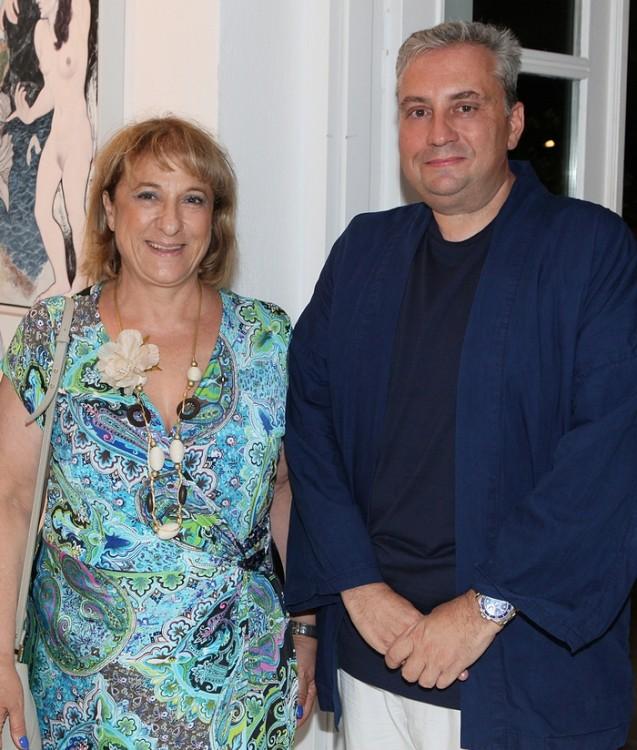 Η Μαίρη Χριστοφίδη και ο Μανώλης Περατικός