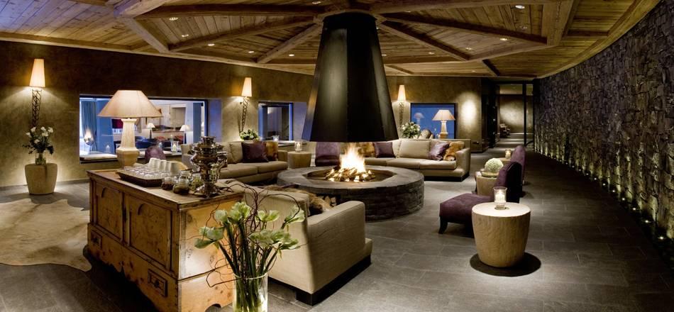 Προχθές το πρωί, στο Spa του Gstaad palace...