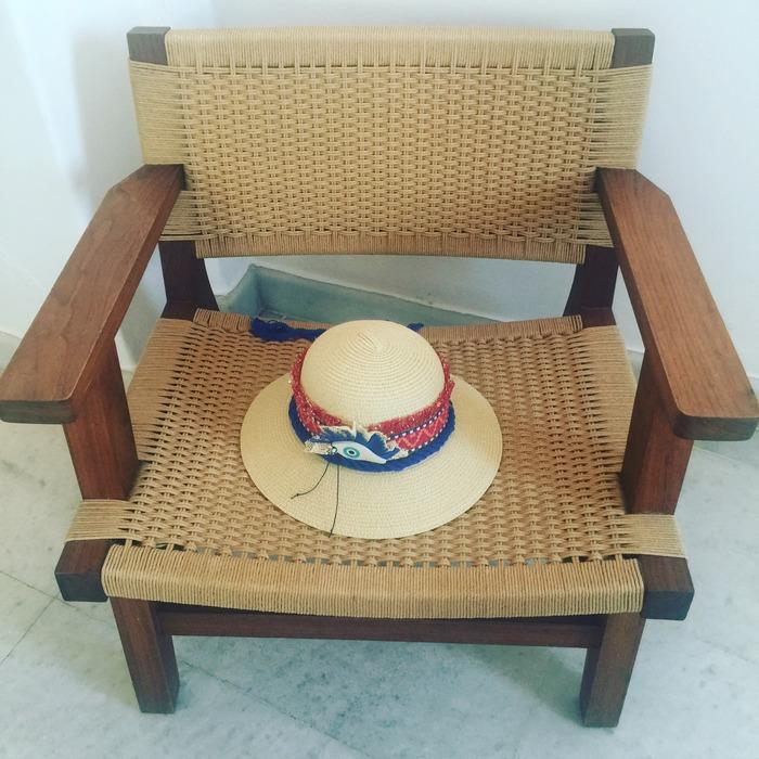 Και το ARCHtrend by Lena Kalidis καπέλο μου για τις απογευματινές βόλτες στο νησί. Άσχετα αν δεν πήγαμε...