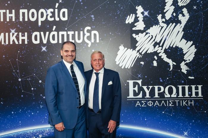 Σπύρος Μαυρόγαλος (Αντιπρόεδρος Ευρώπη Ασφαλιστική, Νικόλαος Μακρόπουλος)