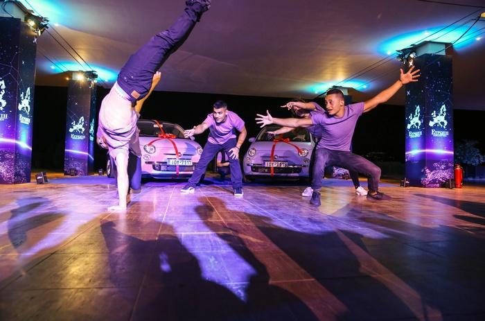Βreakdance, ένα από τα highlight της βραδιάς...