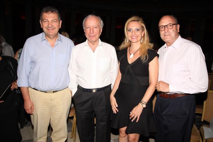 Κώστας Ραφτόπουλος-Δημήτρης Μαναός-Μαριάνθη Καφετζή -Νίκος Παχύλας