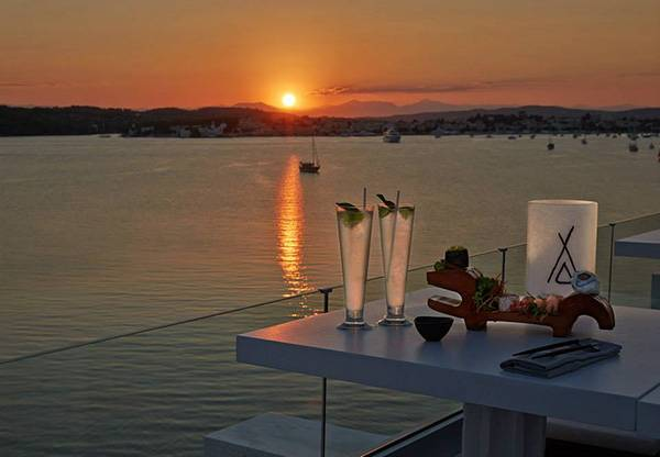 Το πρώτο μας sunset στο Nikki Beach Porto Heli...