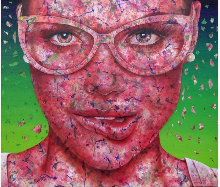 okKadir Akyol_Satisfaction I_oil on canvas_160x190