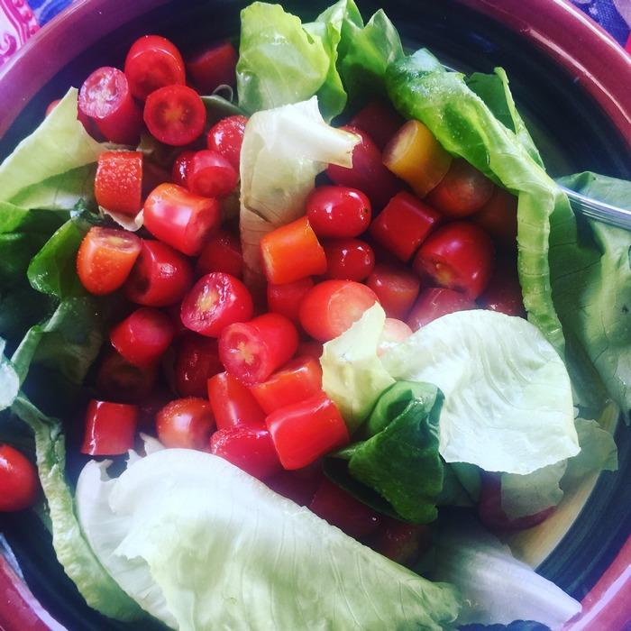Η σαλάτα: μόνο από τον Τσάνα...