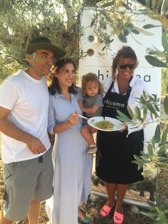 Η οικογένεια των Rhizoma Olive Farms μας χάρισε όλα όσα μας στερεί η καθημερινότητα μας στην πόλη...