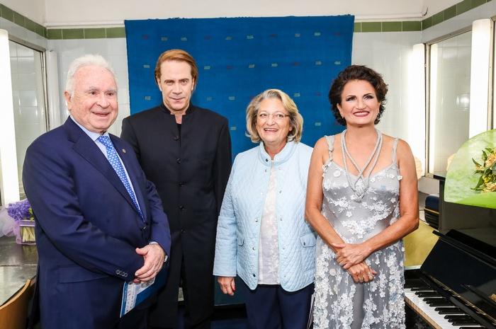 """Χρήστος Μπαρτσόκας, Πρόεδρος του """"Μαζί για το Παιδί"""", Στέφανος Κορκολής, Σίσσυ Παυλοπούλου-σύζυγος του Προέδρου της Δημοκρατίας, Άλκηστις Πρωτοψάλτη"""