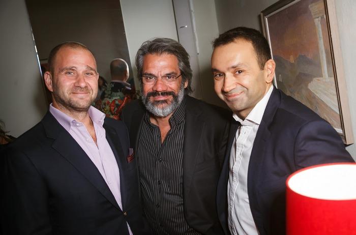 Γιάννης Φλουτάκος, Σπύρος Βαμβακάς, Μάκης Σαββίδης
