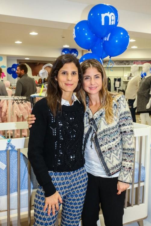 Μαίρη Λάππα (Διευθύντρια Τμήματος Fashion των καταστημάτων mothercare) και Βιολέττα Λάππα