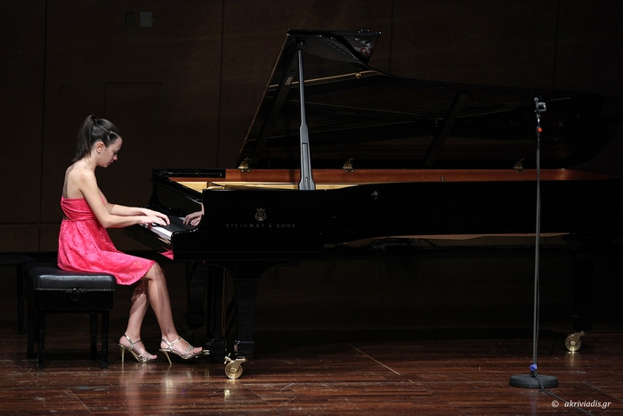 Angelique Tragin A' Βραβείο Διαγωνισμοού Πιάνου DionysiaTrust, 2011