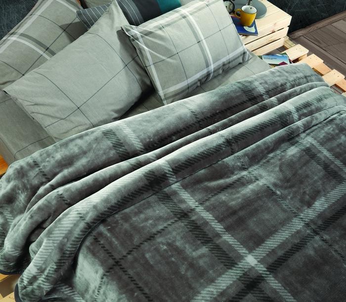 13. Scotch (Grey) - Κουβέρτα υπ/πλη: 220x240 - 59,00€