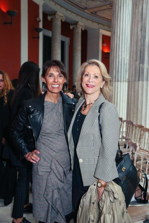 Η Καρίνα Γκέρτσου με την Ηρώ Κόβα