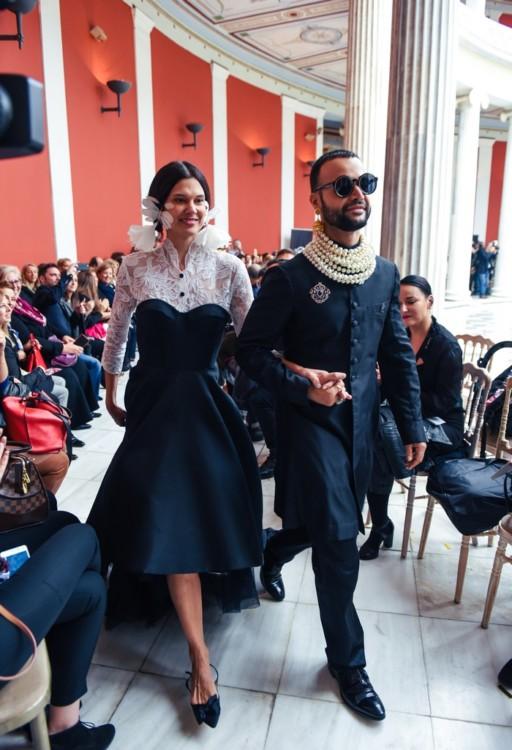 Η Ισαβέλλα Δάρρα με τον Περικλή Κονδυλάτο