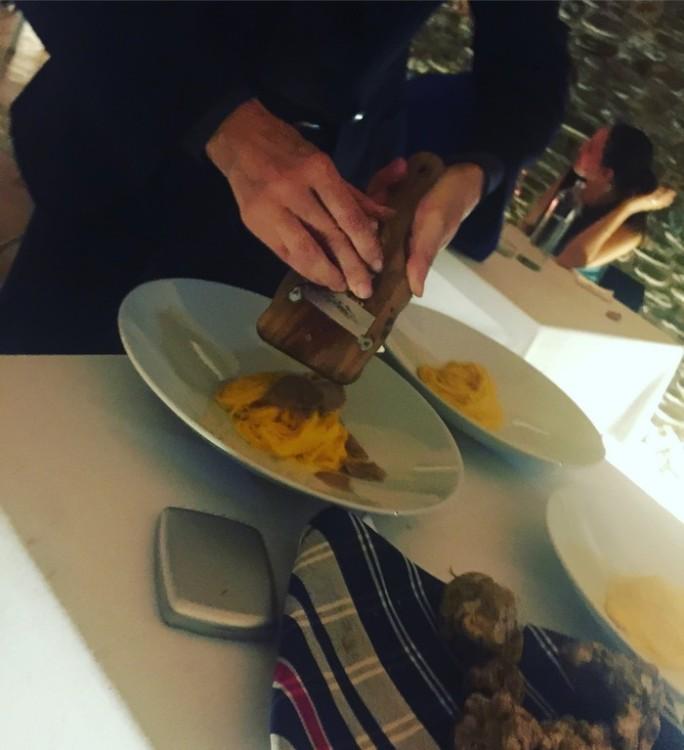 Η διάσημη pasta με τους 30 κρόκους αυγών ανά κιλό αλευριού...
