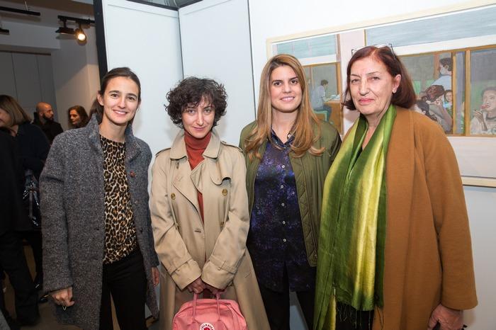 Αταλάντη Μαρτίνου, Monica Szewczyk - επιμελήτρια της Documenta, Μυρσίνη Φέλιου, Βιργινία Ματσέλη
