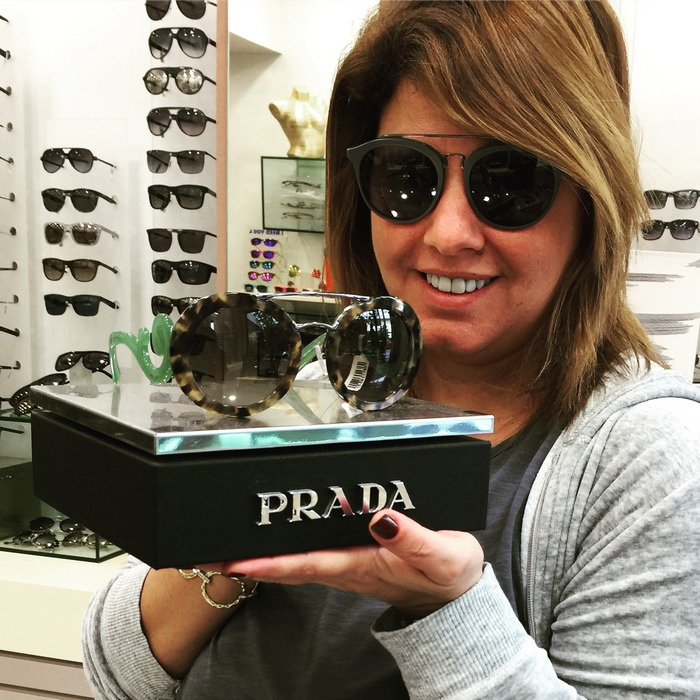 "Prada ""Baroque"" Round sunglasses!"
