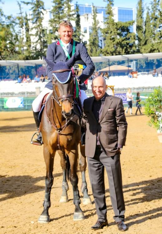 Ο ΧΡΥΣΟΣχρυσός Ολυμπιονίκης Ulrich Kirchhoff με τον κύριο ΣΠΥΡΟΣ ΦΩΚΑΣ