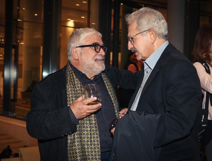Εγκάρδια συζήτηση μεταξύ Δημήτρη Πιατά και Μίμη Ανδρουλάκη