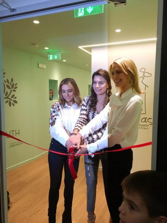 Μαριάννα Γουλανδρή, Λάουρα Λαλαούνη Μακροπούλου, πριγκίπισσα Τατιάνα