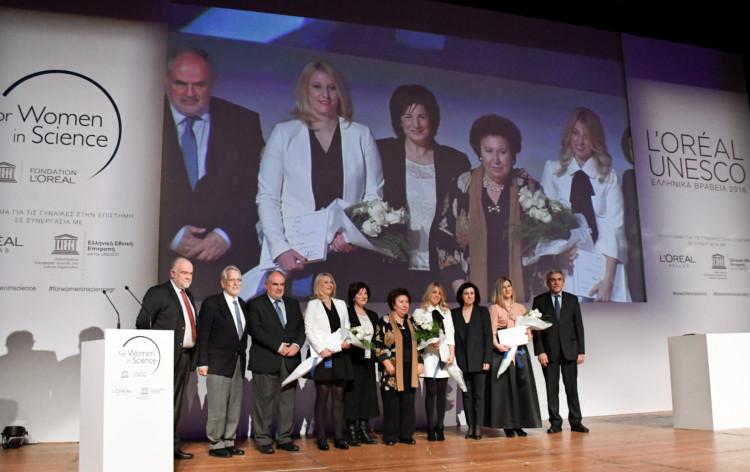 CEREMONY LOREAL-UNESCO 2016