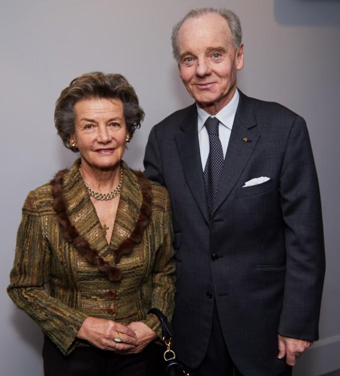 Princesse et Prince Constantin Mourousy