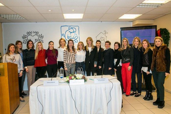 Χριστίνα Φιλιαγκουρίδου, Ελίνα Σμπώκου, Μαρία Παπαθανασίου Αρώνες, Έμιλυ Βαφειά, Κλαίρη Τσαβλίρη, Tatiana Blatnik, Λαούρα Λαλαούνη Μακροπούλου, Μαριάννα Γουλανδρή Λαιμού, Αλεξία Αντσακλή Βαρδινογιάννη, Αλεξάνδρα Τσαβλίρη, Σία Κολλάκη, Λώρα Τσουκαλά, Τόνια Βασιλοπούλου, Χρυσή Βαρδινογιάννη, Ισμήνη Παναγιωτίδη, Κατερίνα Τσάγκα Κεφαλογιάννη.